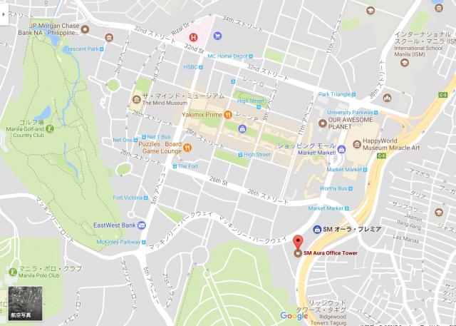 地図 Bonifacio