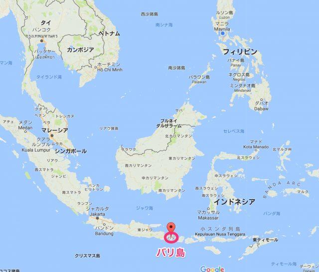 バリ島 地図