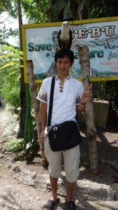 セブ動物園(Cebu Zoo)鷹