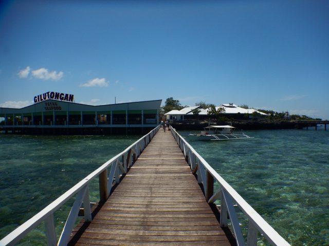 ヒルトゥンガン島 桟橋