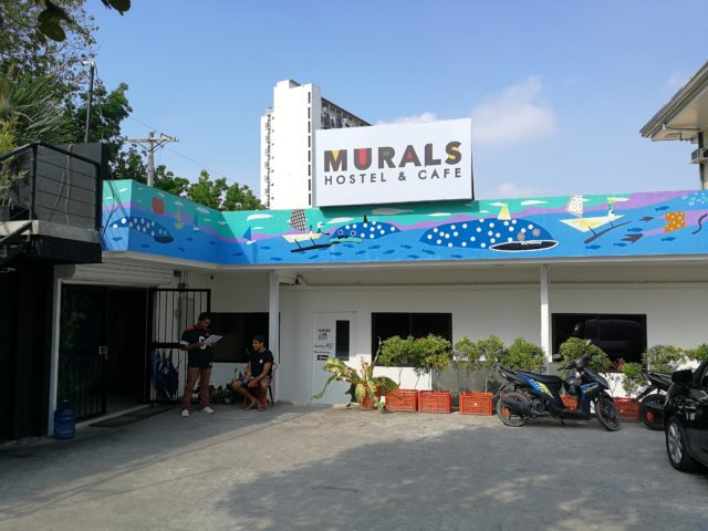 セブ島 Murals Hostel & Cafe