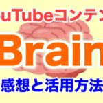Brain YouTube 感想