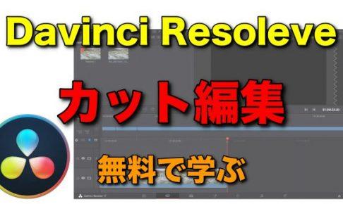 Davinci Resolve カット 編集